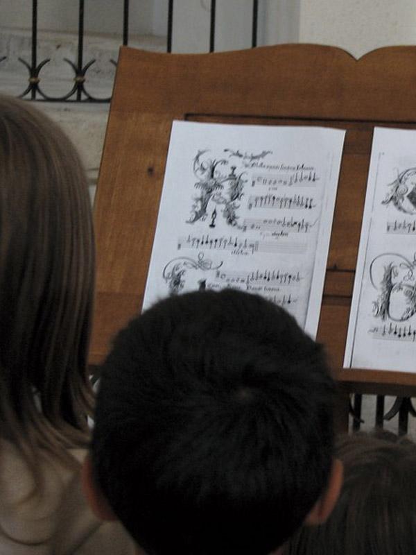 stage enfants organisé par le CIRMA