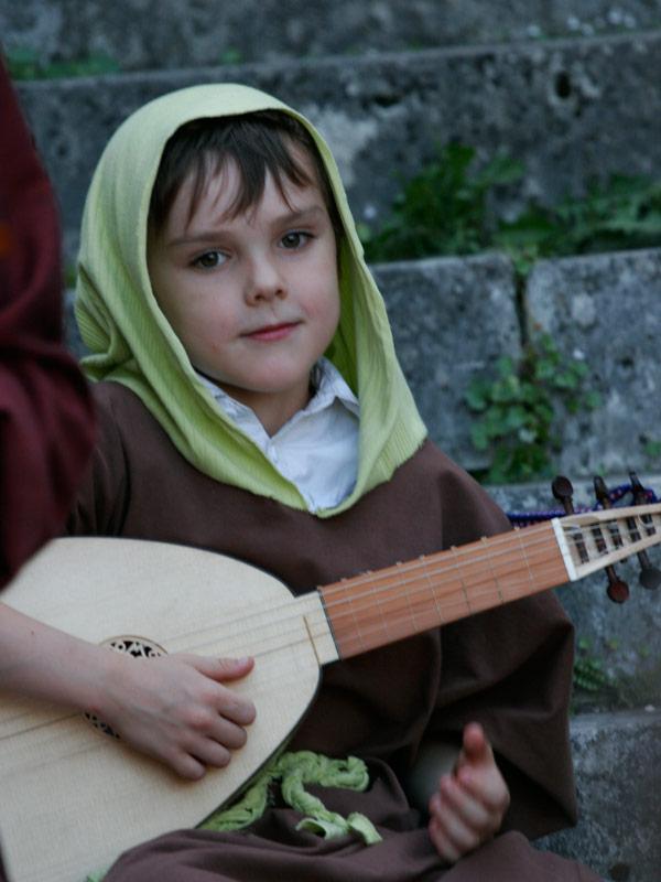 stage de musique ancienne pour les enfants