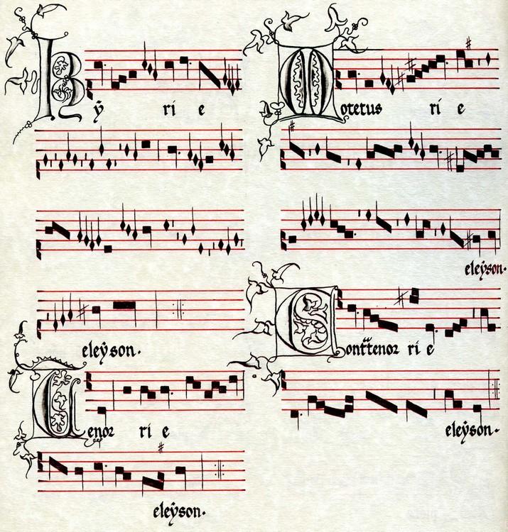 Kyrie de la Messe de Machaut