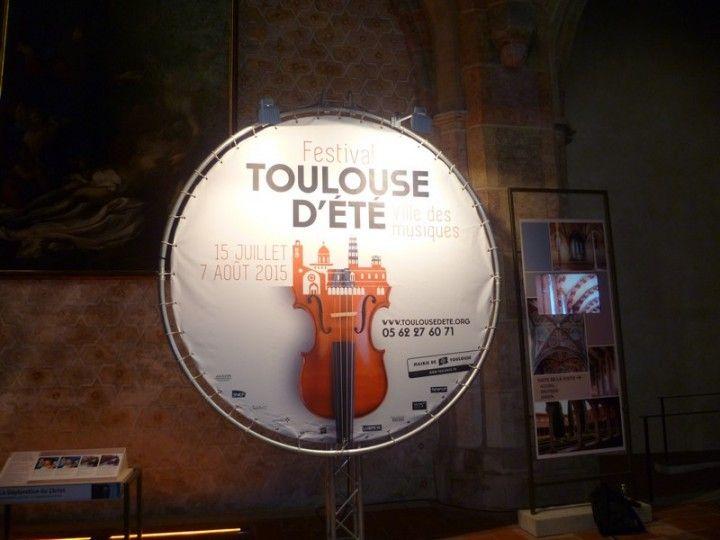 Concert du 17 juillet 2015 – Eglise des Jacobins de Toulouse