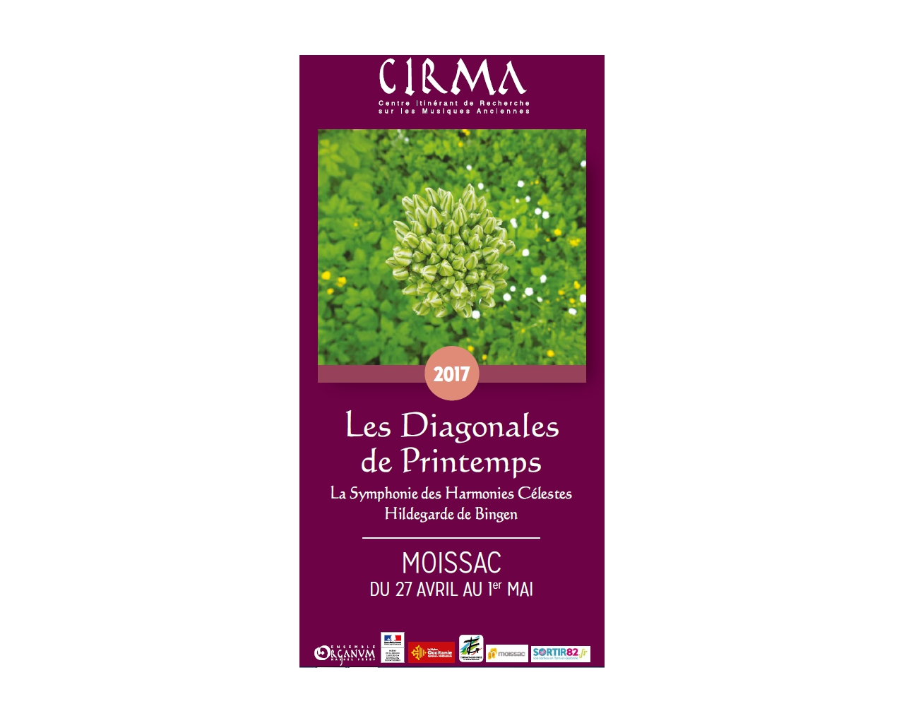 Organum CIRMA - Flyers Diagonales de printemps 2017