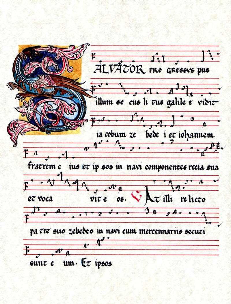 Repons Salvator Progressus - Messe de Saint-Jacques