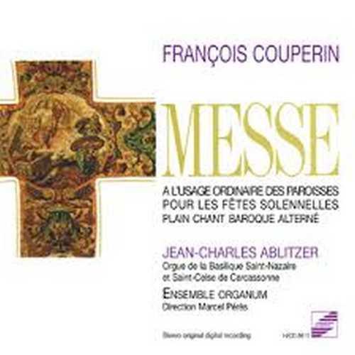 François Couperin, enregistrement de l'ensemble Organum.Dir.Marcel Pérès