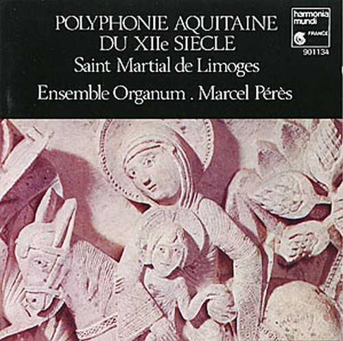 Polyphonie aquitaine, enregistrement de l'ensemble Organum.Dir.Marcel Pérès
