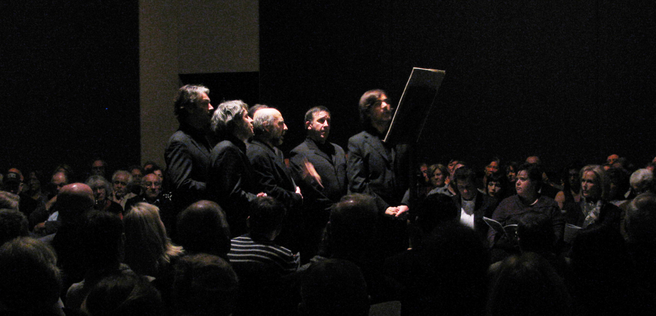 Ensemble Organum, Rothko Chapel, Houston, Decembrer 2010